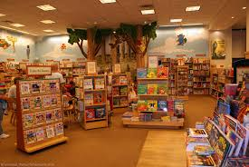 B and N kids section